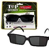 TOP SECRET Spionage-Brille, sehen was hinter einem passiert ohne sich umzudrehen