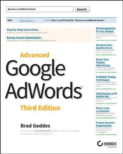 Advanced Google AdWords (English Edition)