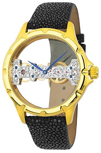 Reichenbach Watch Manual Woman Detjens Black 40mm
