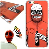 iPhone SE Custodia,iPhone SE Cover, Gallery88 [Con Tappi Anti-polvere] Custodia