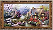 DAYONG Cross Stitch Kits DIY Handmade Needlework Set Cotton Cross-Stitching Accurate Stamped Patterns Embroide