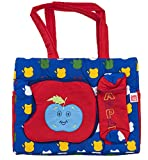 Love Baby Diaper Bag Multi-Utility Applique - DBB08 Navy