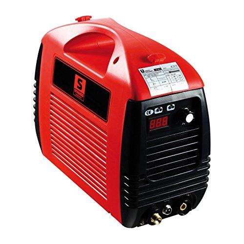 Stamos Welding Group Plasmaschneider Plasmaschneidgerät S-Plasma 50 (20-50 A, 230 V, 0-14 mm Schneidstärke, Schnittfuge: 1mm) Rot