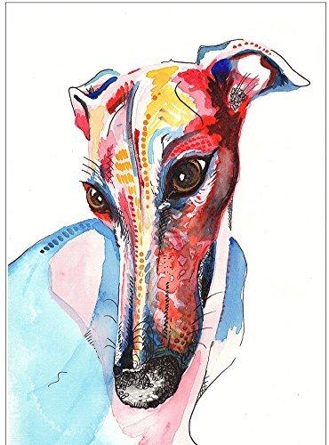 greyhound-art-whippet-lurcher-italian-painting-art-print-birthday-gift-a4-a5-a6-sizes-mounting-optio