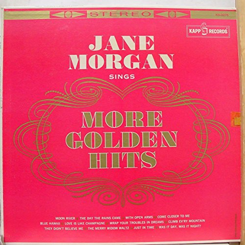 Jane Morgan Sings More Golden Hits [Vinyl LP] (Ks Morgan)