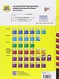Image de Bien démarrer en anglais au collège 6e: cahier d'entraînement (niveaux A1-A2)