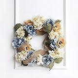 Littlefairy Nachahmung Girlande Anhänger Wandbild Hochzeit Tür Dekoration Handwerk Hortensie Girlande