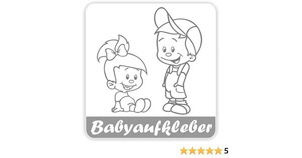 Babyaufkleber Geschwisteraufkleber Für Auto Mit Wunschtext Gs 07 Baby