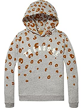 Scotch & Soda R'Belle Animal Print Hoodie, Capucha para Niñas