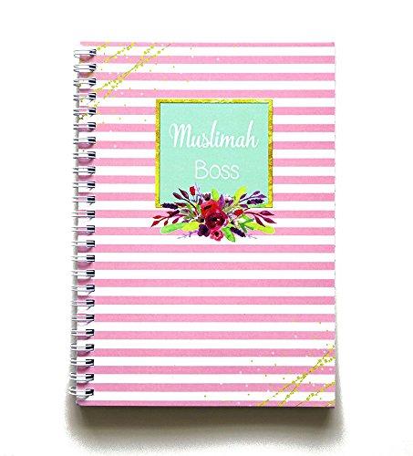 "Islamic Moments Notizbuch ""Muslimah Boss"", Planer, islamisches Tagebuch, muslimisches Tagebuch"