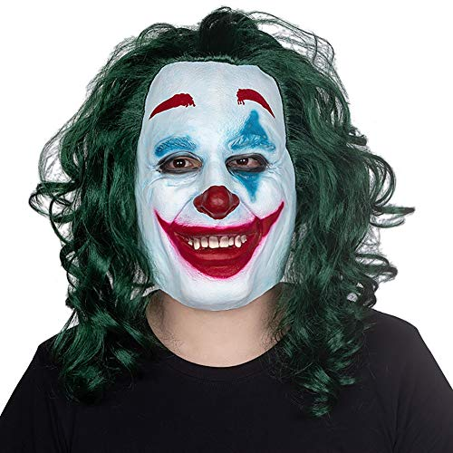 Batman Ihre Kostüm Eigenen Sie Machen - Story of life Joker Clown Maske Halloween Batman Parodie Horror Prom Party, Lustige Anzieh Requisiten Karneval Cosplay
