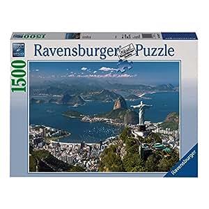 Ravensburger - Puzzle - Vue sur Rio - 1500 Pièces