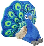 Wild Republic CK Mini Pavo Real de Peluche, 20 cm (13811)