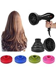 Faltbarer Föhn Diffusor für Curly Frisuren Welliges Haar, Fön Haar Gebläse Diffusor Abdeckungs Frisur Werkzeug für Schnell Trocken und Gain Volumen ohne Frizz