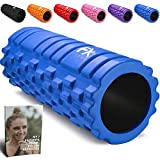 Rullo Massagio Foam Roller Trigger Point Grid Rullo in Schiuma Pilates - Rullo Massaggiatore di Schiuma Il Rilascio Miofasciale e il Sollievo del Dolore in Gambe e Corpo Doloranti - 2 Anni di Garanzia
