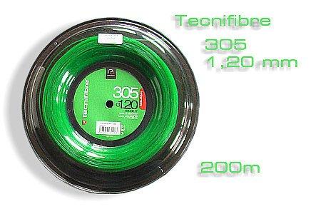 Tecnifibre 305 Premium Green Squash String - 200m Reel -