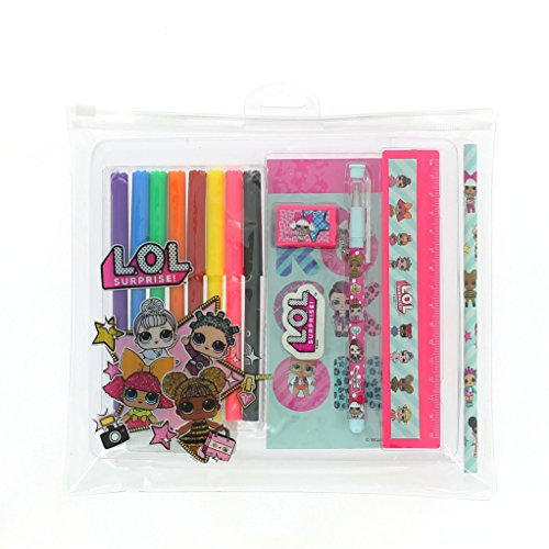 L.O.L. SURPRISE!! Deluxe Stationery Kit for Girls LOL Dolls Limited Edition School Set for Girl