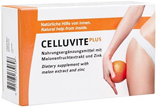 Anti Cellulite Kapseln aus der Apotheke, Hilfe bei Orangenhaut und Cellulitis - CELLUVITE PLUS