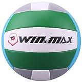 Ballon de Beach Volley, Volley-Ball (Vert/Gris)