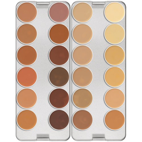 Dermacolor Camouflage Make up Creme Palette 24 Farben -