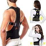 Regulable Postura de Espalda Corrector Terapia Magnética Postura Corrector Brace Hombro...