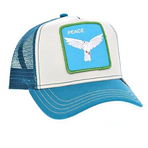 069ec19296a15 Goorin Peace Keeper – Baskets Basses Homme Bleu Bleu Taille Unique