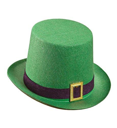 Video Delta - de San Patricio sombrero de copa de fieltro