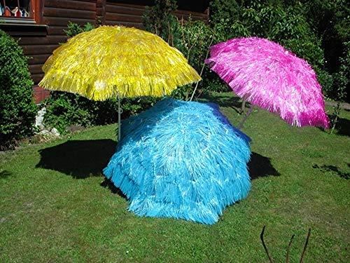 Westerholt Hawaii Schirm Sonnenschirm Strandschirm Gartenschirm Balkonschirm Durchmesser 150 cm/Farbe: Aqua