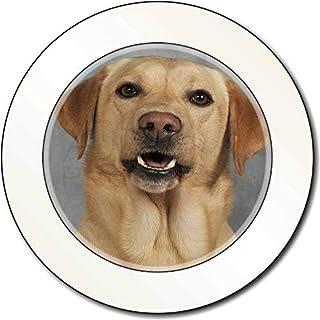 Yellow Labrador AutovignetteGenehmigungsinhaber Geschenk