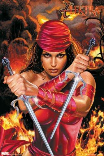 Daredevil - Comic Poster (Elektra) (Size: 27 x 40) by Posterstoponline