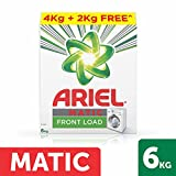 #9: Ariel Matic Front Load Detergent Washing Powder - 4 kg with Free Detergent Powder - 2 kg