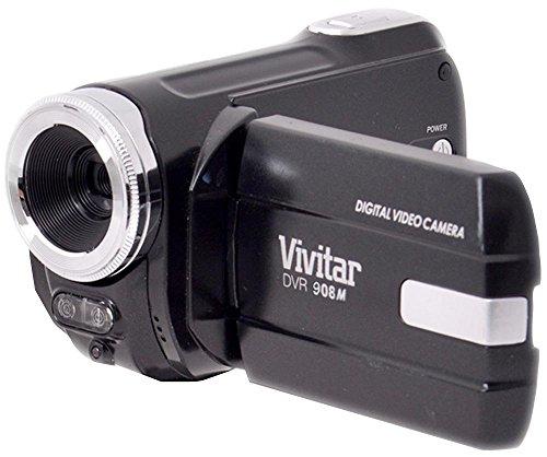 Preisvergleich Produktbild Vivitar dvr908mfdblk 10.1MP Full HD Digital Camcorder, Schwarz NEU