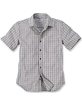 Carhartt .102100.261.s005Slim Fit Plaid Shirt Short Sleeve, Farbe: Sand, Größe: Medium