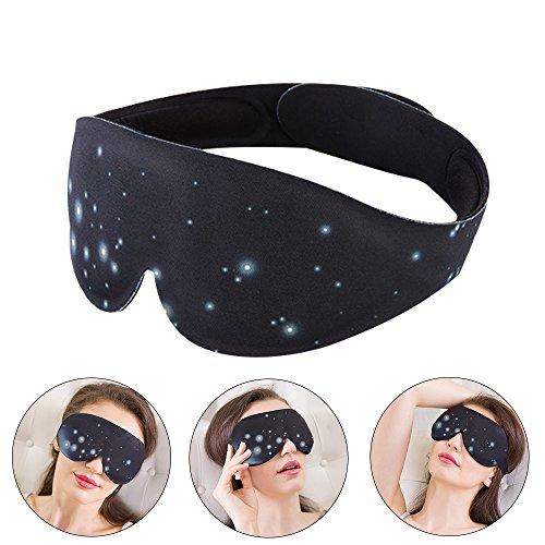Portable Graphene Heizung Augenmaske, USB-Kabel Elektrische Heizung Schlafmasken Fern-Infrarot-Augen-Massage-Maske für Augenmüdigkeit, Deepth Eye Physiotherapie, Sicherheit und Komfort (Schwarz)