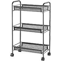 "Ikea Trolley, Grey, 26x48x77 cm (10 1/4x18 7/8x30 3/8"")"