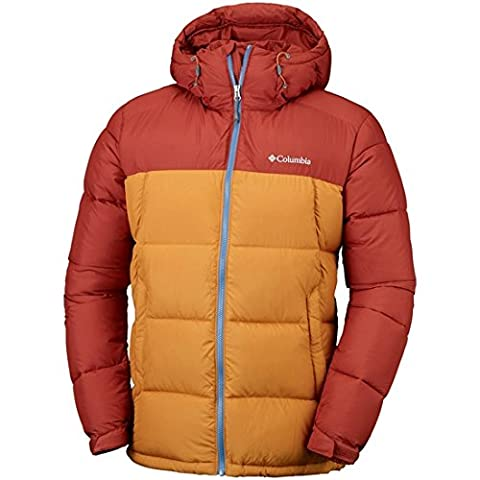 Columbia Pike Lake Doudoune Homme, Rusty/Canyon Gold, FR : L (Taille Fabricant : L)