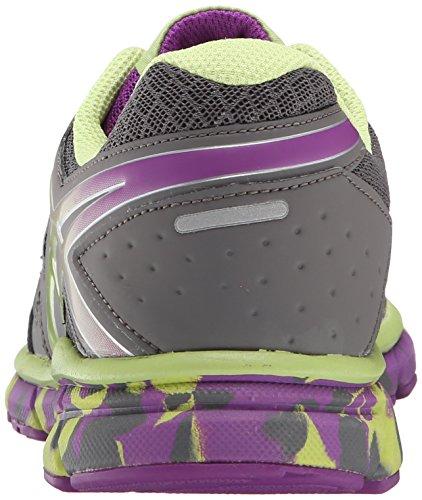 Asics Gel-Lyte33 2 GS Synthétique Chaussure de Course Titanium-Sharp Green-Purple