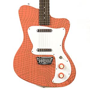 danelectro 39 67 heaven hawk guitar orange alligator musical instruments. Black Bedroom Furniture Sets. Home Design Ideas
