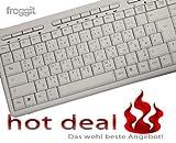 Tastatur Deutsch Arabisch USB Multimedia Weiss PK703