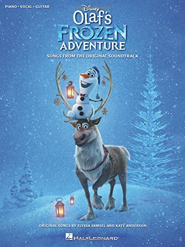 Disney's Olaf's Frozen Adventure -For Piano, Voice & Guitar-: Noten, Sammelband für Klavier, Gesang, Gitarre (Pianovocalguitar S)
