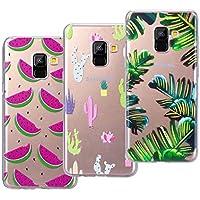 VemMore [3 Packs] Kompatibel für Galaxy A8 2018 Hülle Transparent Weiche Silikon Handytasche Handyhülle Schutzhülle... preisvergleich bei billige-tabletten.eu