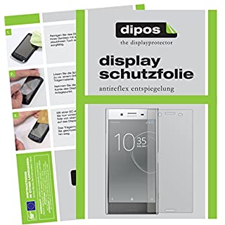 dipos I 2x Screen Protector matte for Sony Xperia XZ Premium Protection Films