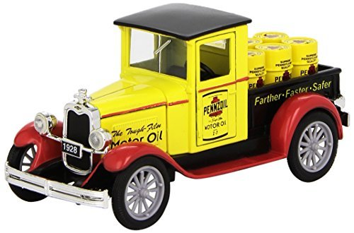 1928-chevrolet-pennzoil-pickup-truck-by-newray-132-scale-diecast-by-new-ray