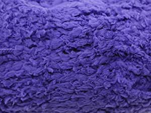 Sirdar Snuggly Snowflake Chunky Knitting Yarn Bright Purple (653)