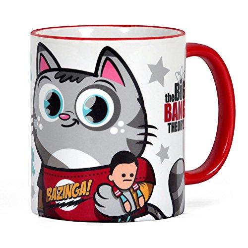 Big Bang Theory Tasse mit Sheldons Soft Kitty Katze Keramik