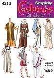 Simplicity 4213 A - Patrones de costura para disfraces de adulto