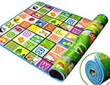ZIZLY Baby mat, Baby Play mat,Waterproof, Anti Skid,Double Sided Baby Play and Crawl