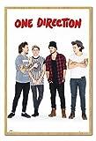 iPosters One Direction Ohne Zayn Portrait Poster Magnettafel Buchenholz-Rahmen, 96,5x 66cm (ca. 96,5x 66cm)