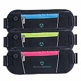[Sport Hüfttasche] »Traveller« Gürteltasche 2- Pocket-Kapazität Bauchtasche
