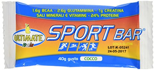 Ultimate Italia BARCOC Sport Bar Barretta Energetica - 24 Barrette - 51bHTOdI2%2BL
